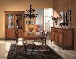 sale da pranzo classiche prezzi gallery of sala da pranzo classica finitura ciliegio sedie