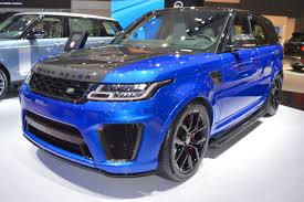 range rover svr engine 2018 range rover sport svr showcased at the 2017 dubai motor show