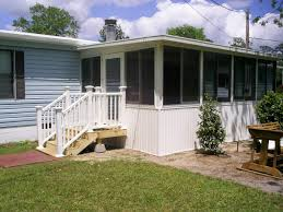Exterior Mobile Home Makeover by Mobile Home Roofovers Southern Home Addition Inc Jacksonville Fl