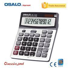 calculatrice graphique bureau en gros osalo os 1200v qualité électronique calculatrice 12 chiffres