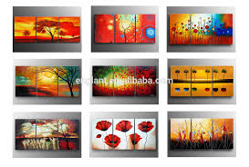 Home Goods Wall Decor by 3 Panel Home Goods Wall Art Floral Wall Art Painting Buy Wall