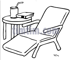 free drawing of garden chair bw from the category building home