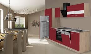 kleindurchlauferhitzer küche respekta einbau küche küchenzeile 310 cm eiche sägerau rot kühl