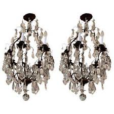 Cut Glass Chandeliers Gently Used U0026 Vintage Louis Xiv Furniture For Sale At Chairish