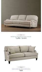 copycatchicfinds restorationhardware english roll arm sofa 3020