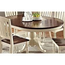 oval dining room tables amazon com east west furniture avt blk tp oval table with 18 inch