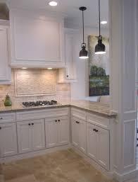 white backsplash for kitchen kitchen stunning kitchen white backsplash cabinets modern with