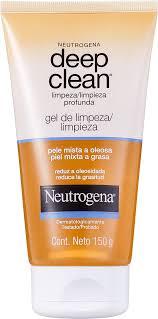 gel de limpeza neutrogena deep clean beleza na web