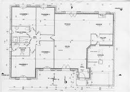 plan maison plain pied gratuit 4 chambres plan de maison en l plain pied gratuit 4 chambres 9 v lzzy co