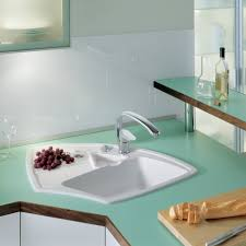 Corner Kitchen Cabinet Dimensions Ceramic Corner Kitchen Sink