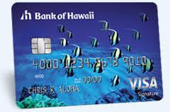 bank of hawaii personal credit cards