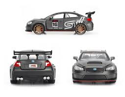 wrx subaru grey jdm tuners 2016 subaru wrx sti widebody 1 24 scale grey