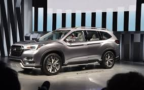 subaru suv concept subaru ascent concept the next seven seat subaru the car guide