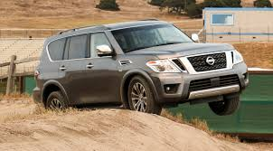 nissan armada off road 2017 nissan armada mega suv makes good use of its cameras