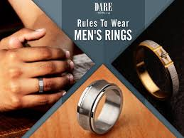 men ring what are the ways to wear men s rings are there