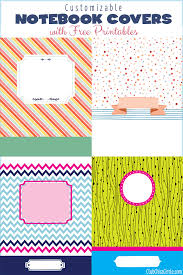 customizable notebook free printable designs yes you can use