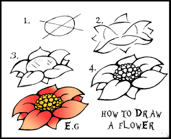 Couch Drawing Step By Step How To Draw Flowers Step By Step With Pictures Laura Williams