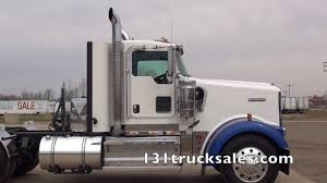 2010 kenworth trucks for sale 2010 kenworth w900 day cab w wet lines youtube