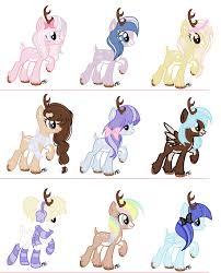 my little pony favourites by thezombiebride on deviantart sugarmoonponyartist 7 24 deer ponies closed by sugarmoonponyartist