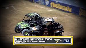 how long does the monster truck show last monster jam 2016 preview show on fs1 december 27 2015 youtube