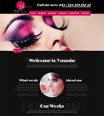 websites for makeup artists 15 make up artists themes templates free premium