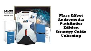 mass effect andromeda pathfinder edition strategy guide unboxing