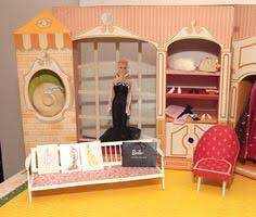 59 Best Barbie Homes Ideas by Early 1960 U0027s Vintage Cardboard Barbie U0027s New Dream House With