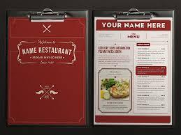 pages menu template food menu 9 by luuqas design dribbble