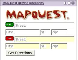 travel directions images Mapquest driving directions arizona free world map jpg