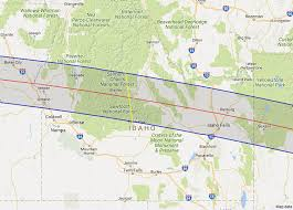 idaho zone map 2017 total solar eclipse in idaho