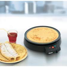 crepe maker with manual temperature settings tristar bp 2961 bla