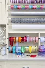 wrapping station ideas 35 best gift wrap station images on organization ideas