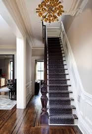 stair awesome winder design with striped carpet runner trends