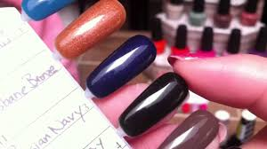 opi gelcolor swatches u0026 review youtube