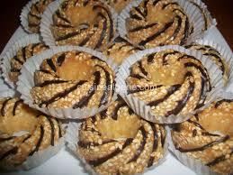 cuisine alg駻ienne gateaux recettes gâteaux secs aux graines de sésames djeldjlane cuisine algérie