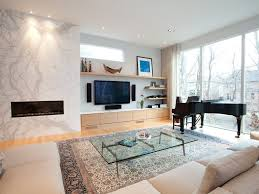 built in bookshelf beige wall tan media console greys bookcase
