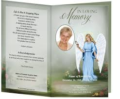 create funeral programs 214 best creative memorials with funeral program templates images