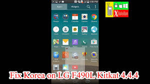 succeed root u0026 fix rom for lg g3 screen f490l kitkat 4 4 4 and