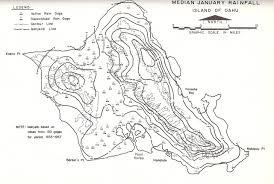 Map Of Hawaii Big Island Rainfall Atlas Of Hawaii History