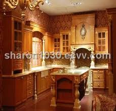 solid wood kitchen furniture raised squared solid wood kitchen cabinet purchasing