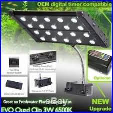 3 watt led aquarium lights evo quad clip 3w 6500k led aquarium light freshwater plant 20 3 watt