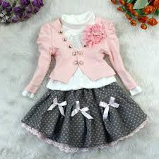 new year baby clothes 2017 girl baby kids children top coat t shirt skirt tutu clothing