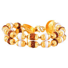jewelry man gold bracelet images Rudraksha mens gold bracelet rmbr 0070 men bracelets jewellery jpg
