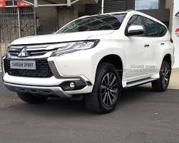 mitsubishi montero 2017 iab reader spots the 2017 mitsubishi shogun sport in the uk