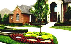 Easy Front Yard Landscaping - luxury easy front yard landscaping modern natural high end with