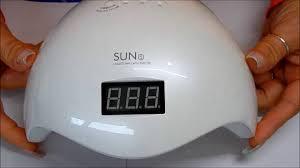 sun5 uv led 36 watt lamp review state of the art low heat