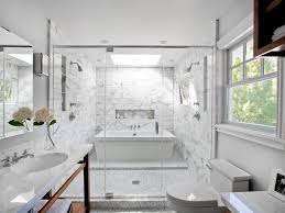 Bathroom Tile Ideas White by Bathroom Admirable White Tile Bathroom Using Marble Material With