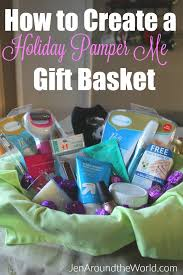 Pamper Gift Basket How To Create A Pamper Me Gift Basket For A Friend