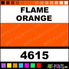 flame orange aquacote fluorescent enamel paints 4615 flame