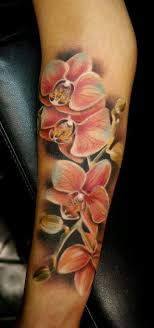 Tattoos Of - best 25 tattoos of orchids ideas on shoulder